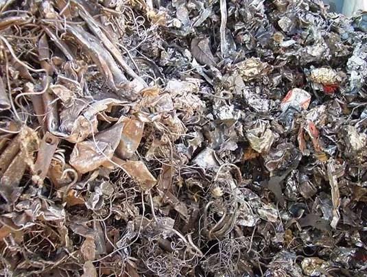 шредиране на металите от екометал